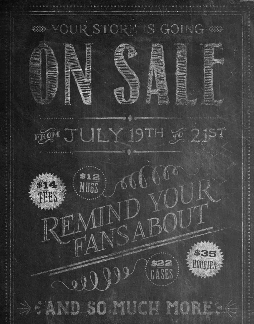 Sale July 19th to 23rd
